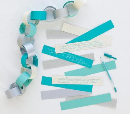 5. Real Simple paper chain